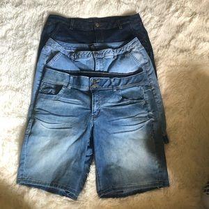 Lot of Lane Bryant Shorts 16